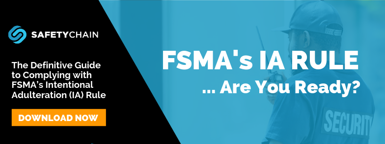Definitive Guide to FSMAs IA Rule
