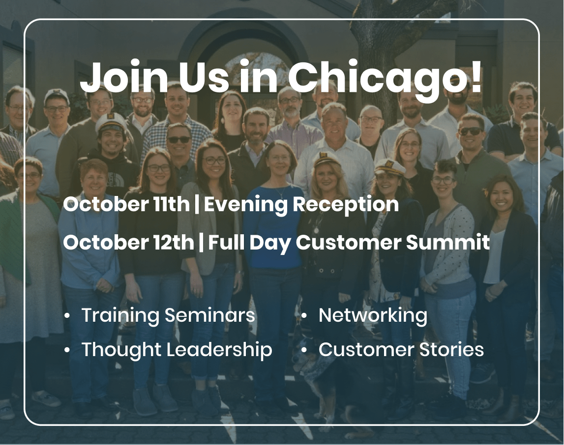 Join Us in Chicago - 2021
