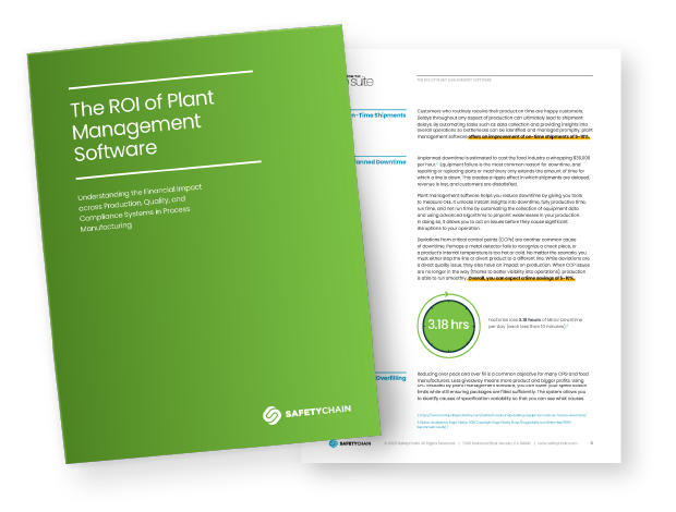 ROI Guide Plant Management Software